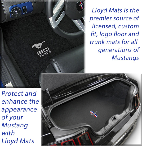 custom fit floor mats with Mustang logos for all models and years of Mustang. Mustang floor mats